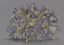 100 LIGHT LILAC GYPSOPHILA on THREAD Mulberry Paper